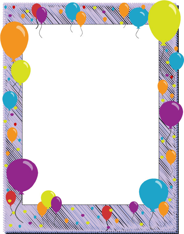Frame clipart happy birthday Clip collection Card Border &