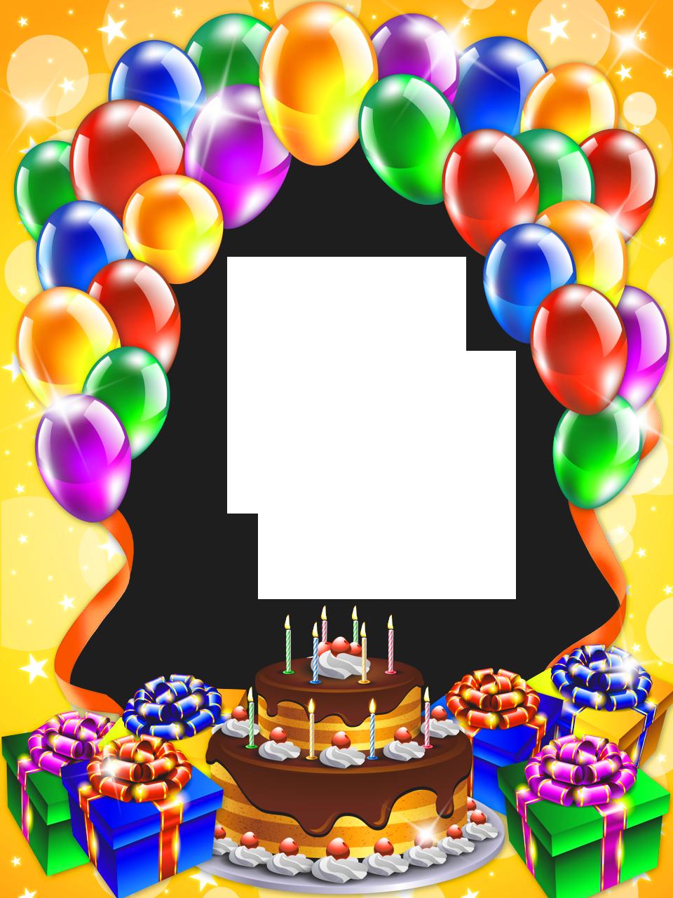 Frame clipart happy birthday Full Yopriceville Frame Birthday Gallery