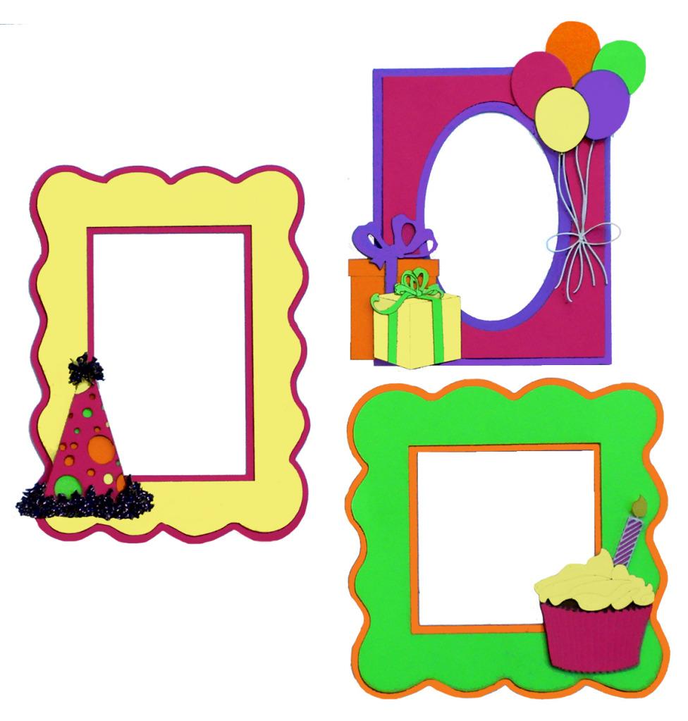 Frame clipart happy birthday Birthday Art Free Birthday Clipart