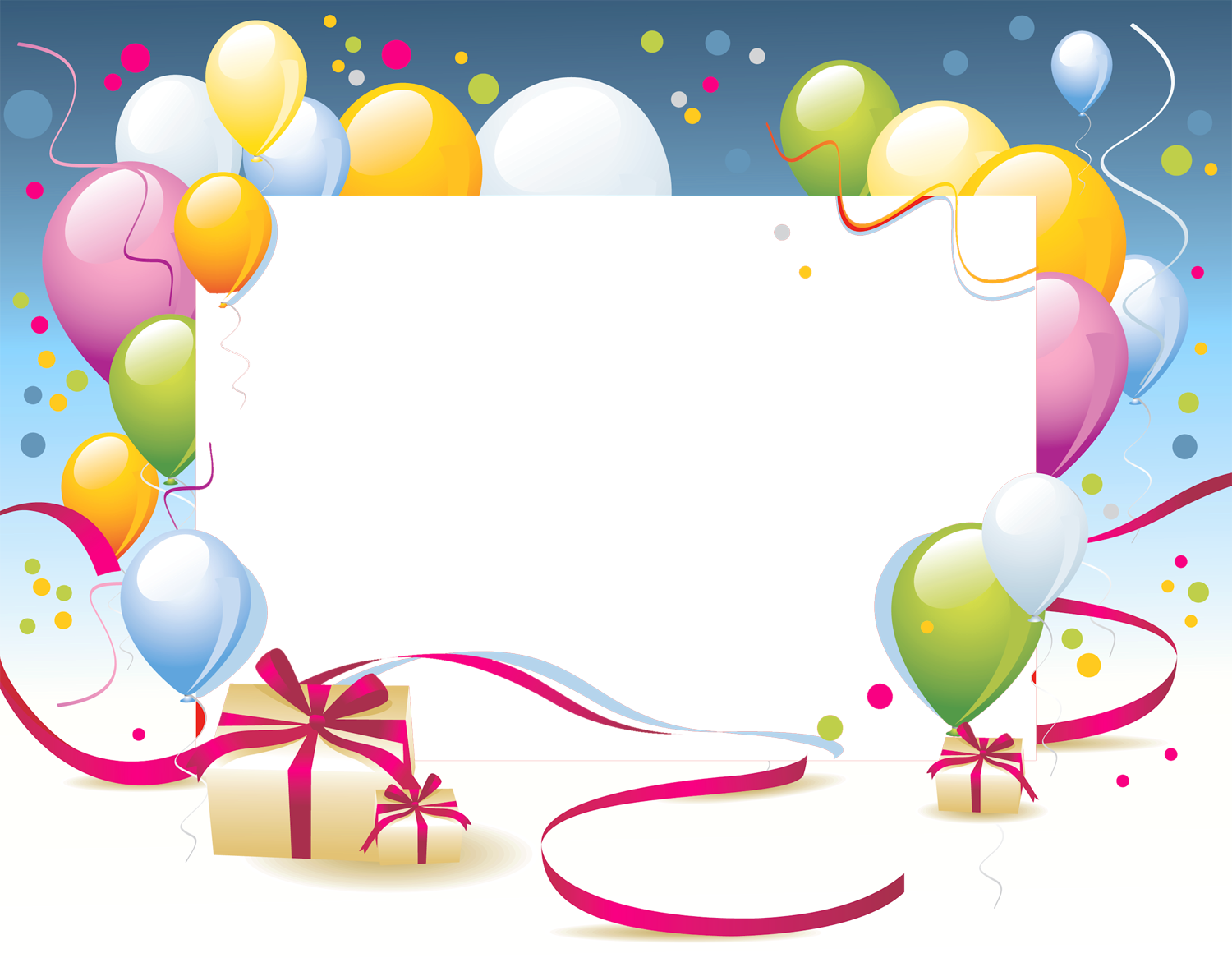 Frame clipart happy birthday Transparent Frame PNG Frame фонове