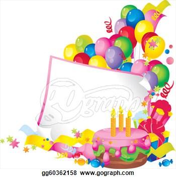 Frame clipart happy birthday Free Clipart Panda Art Free
