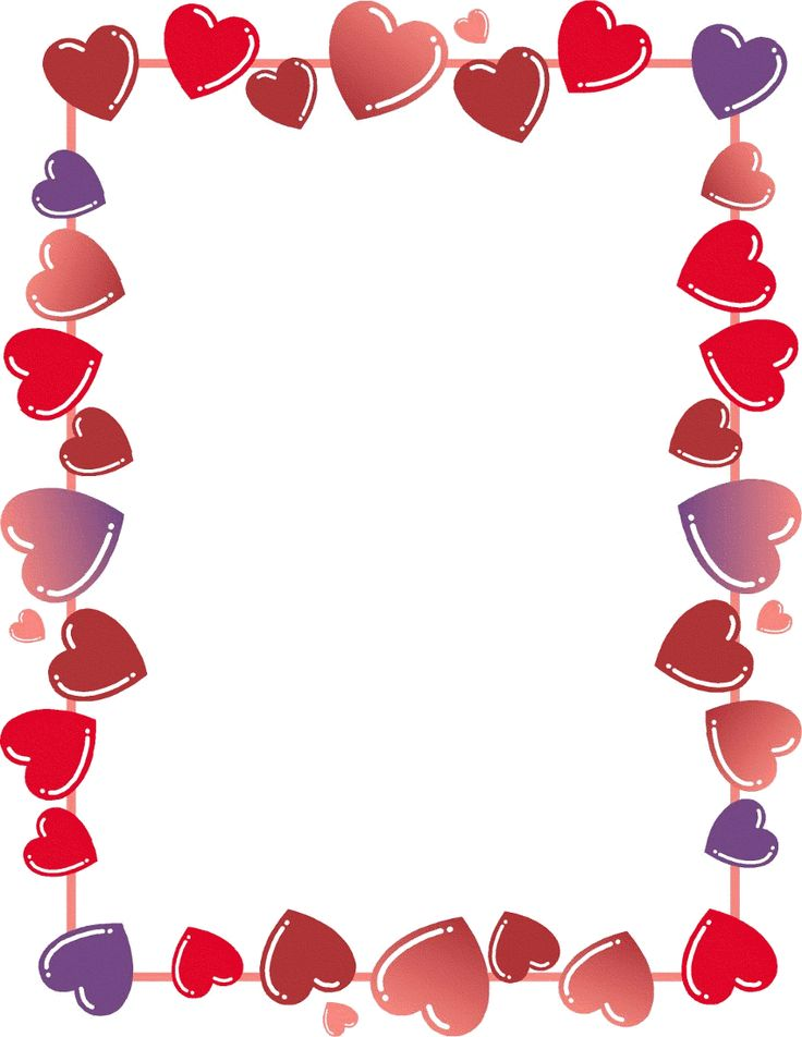 Hearts clipart border Images this Find heart Clip