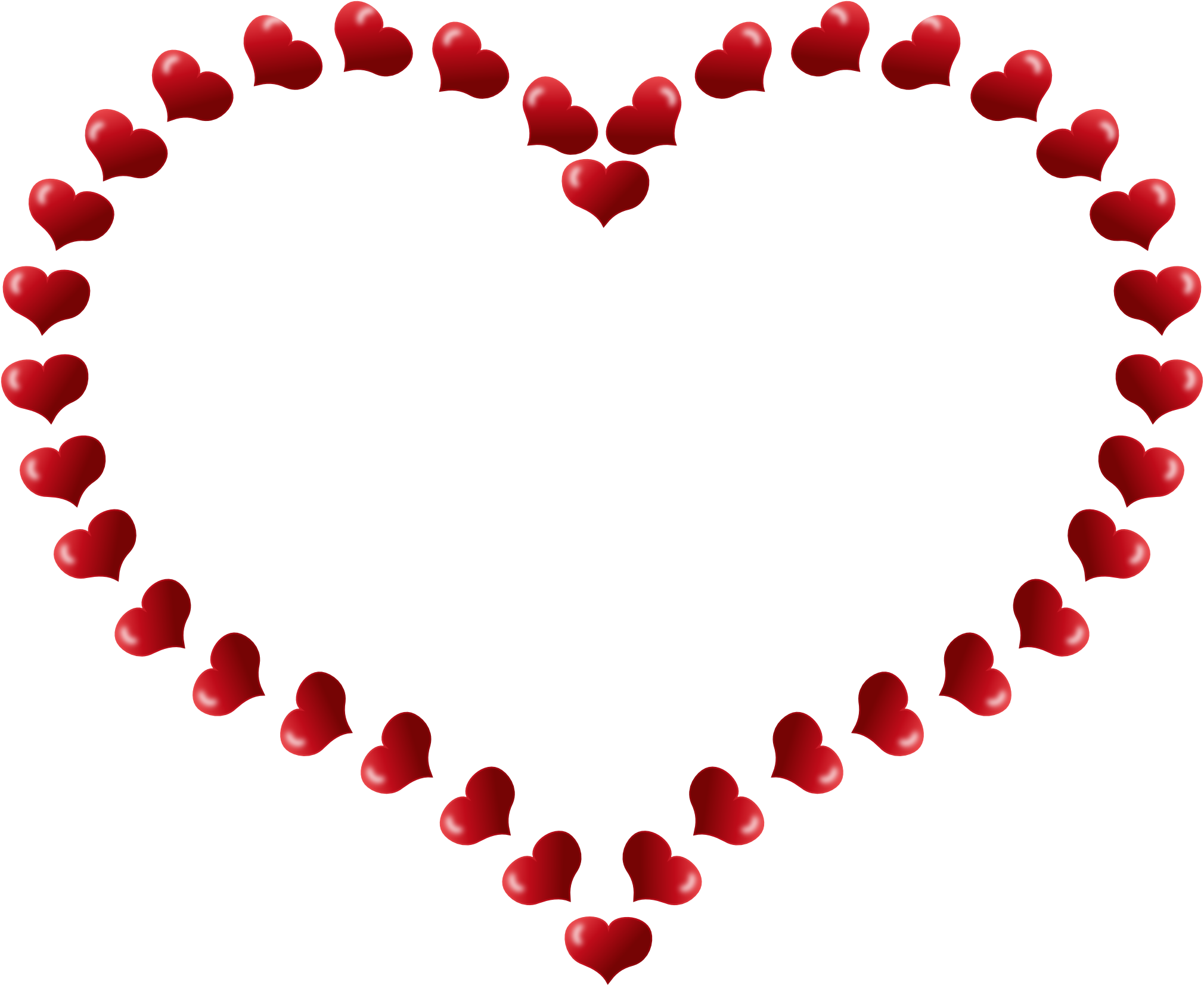 Heart-shaped clipart open heart #10