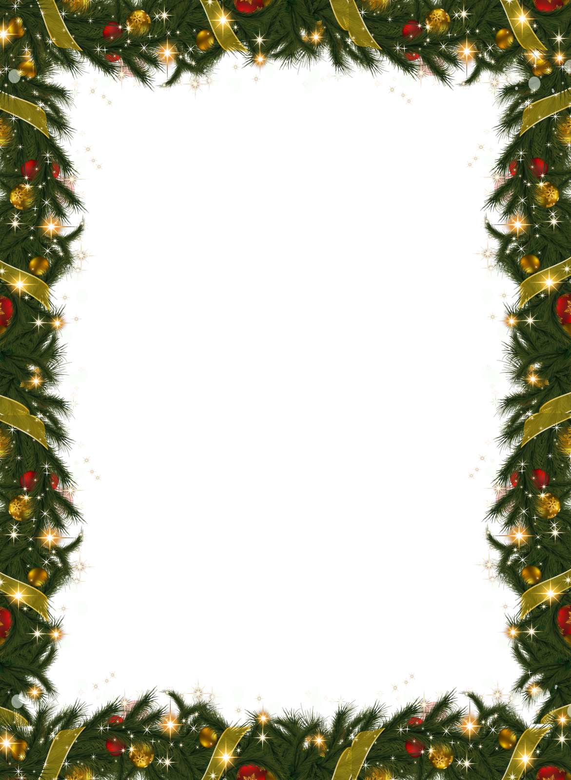 Frame clipart holiday Full Garland Gallery View
