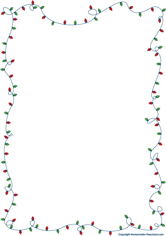 Frame clipart holiday Clip Clipart Borders Holiday Holiday