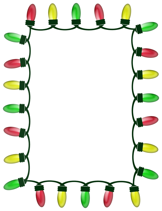 Frame clipart holiday Clipart Clipart Images Border Panda
