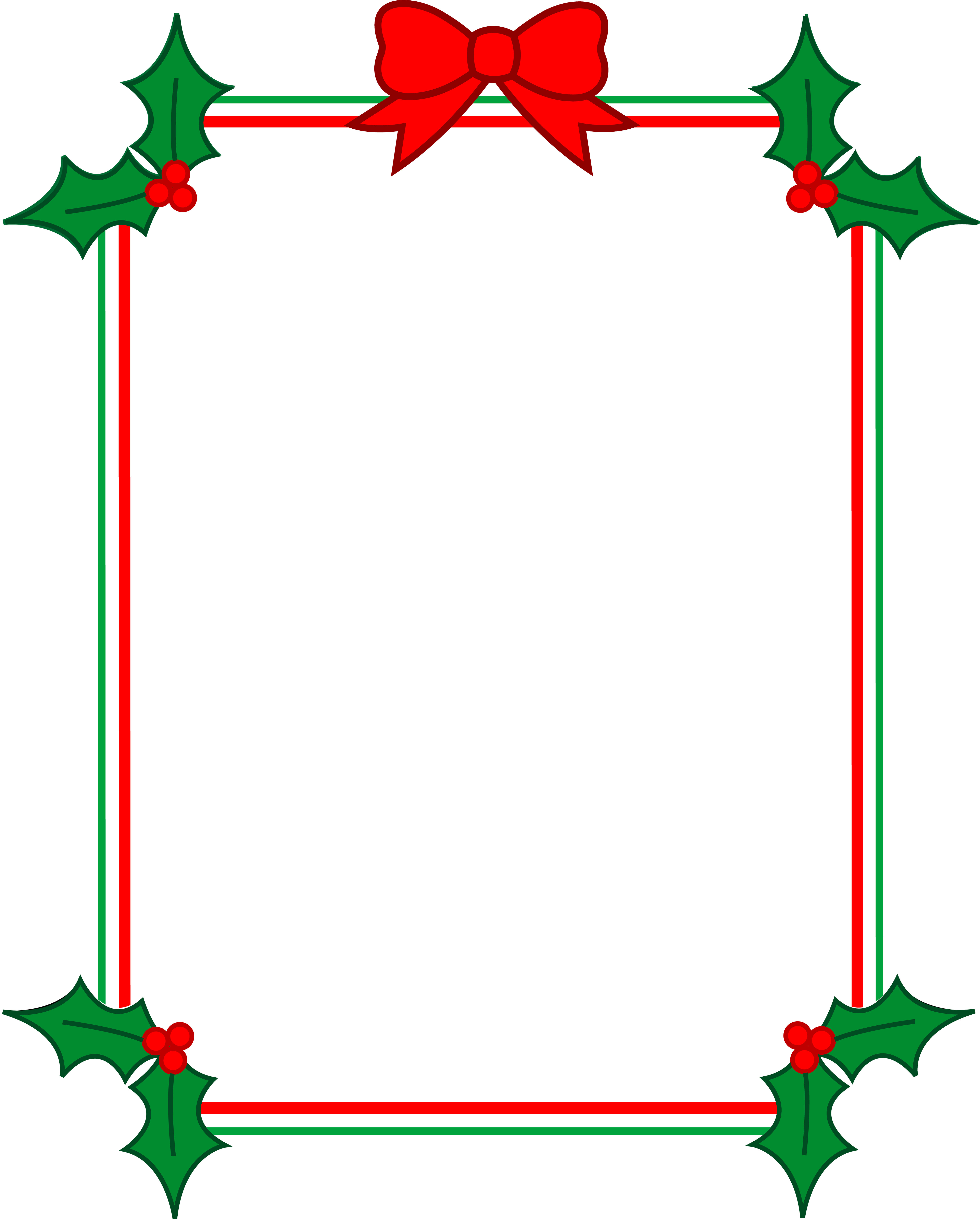 Frame clipart holiday Borders clipart Clipart art collection