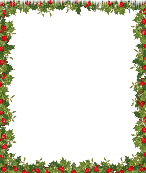 Frame clipart holiday Transparent & borders Holiday Holidays