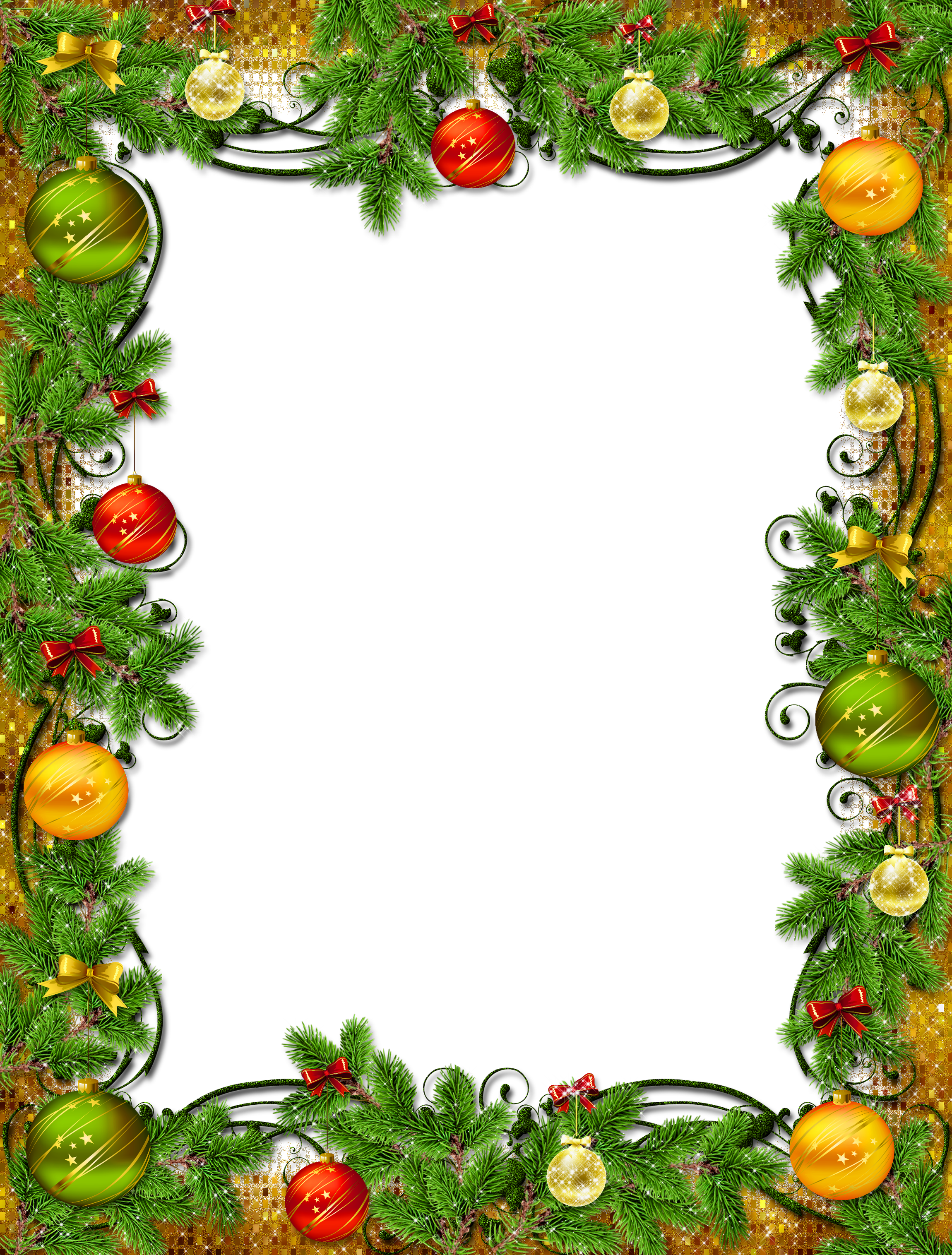 Frame clipart holiday PNG Christmas Yopriceville Beautiful Photo