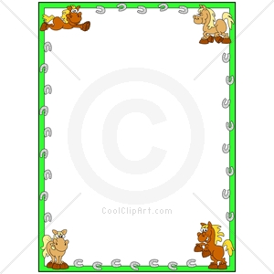 Frame clipart horse Cps Com Id Clipart Php
