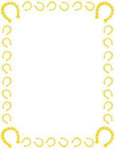 Frame clipart horse Clipart Clipart popcorn%20border%20writing%20paper Border Clipart
