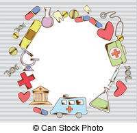 Frame clipart hospital Frame supplies Collection Medical supplies