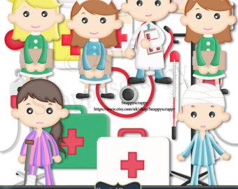 Frame clipart hospital Nurses Nurse Commercial Use Clipart
