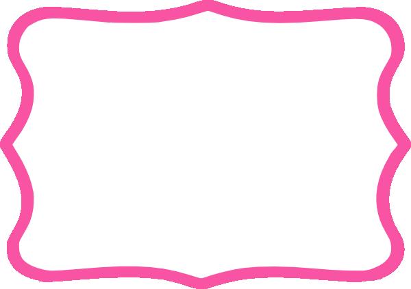 Frame clipart hot pink Vector Hot  art Art