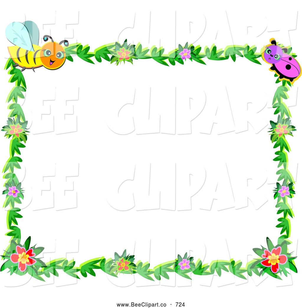 Bugs clipart border Clipart Frame  Border Bug