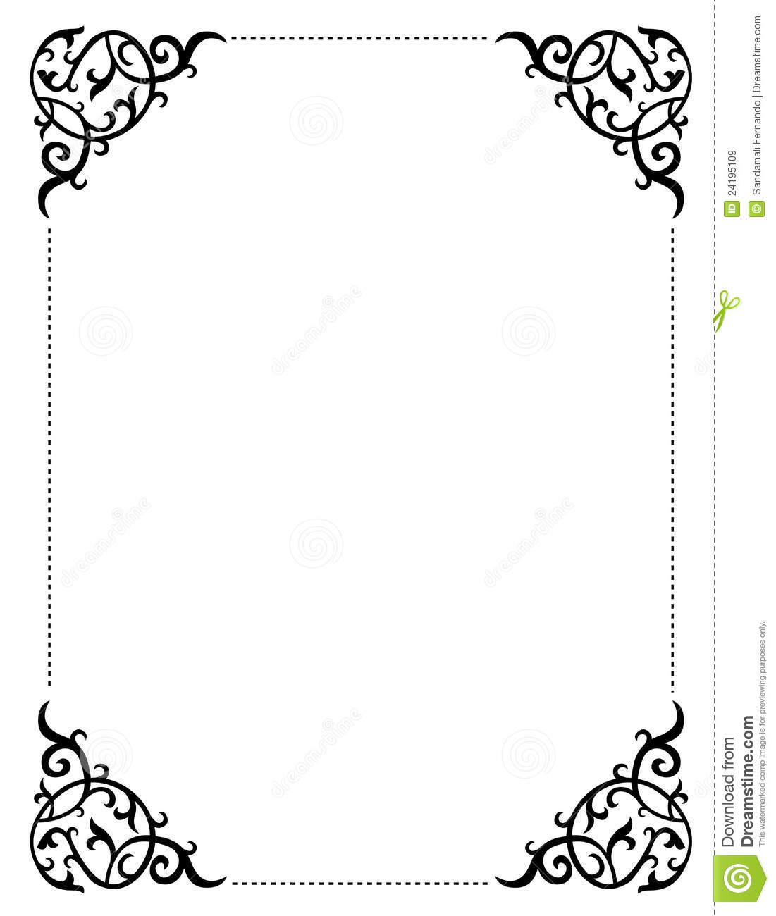 Romantic clipart wedding program #14