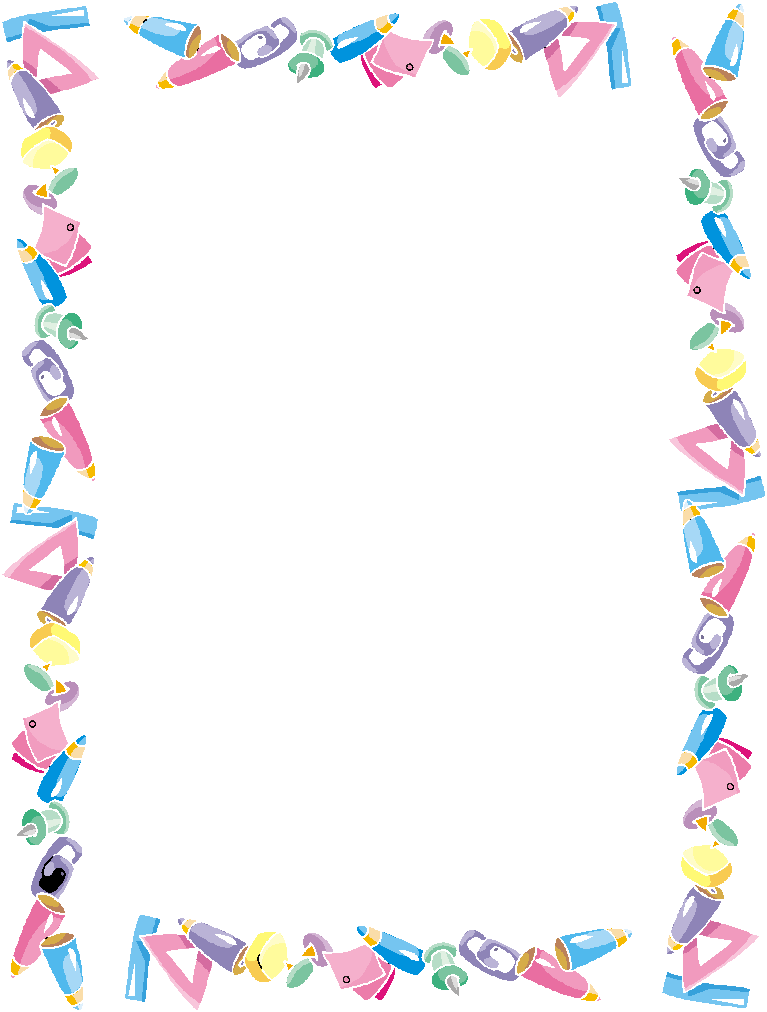 Number clipart border And etiquetas more! Frame marcos