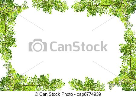 Frame clipart confetti Green white Stock on on