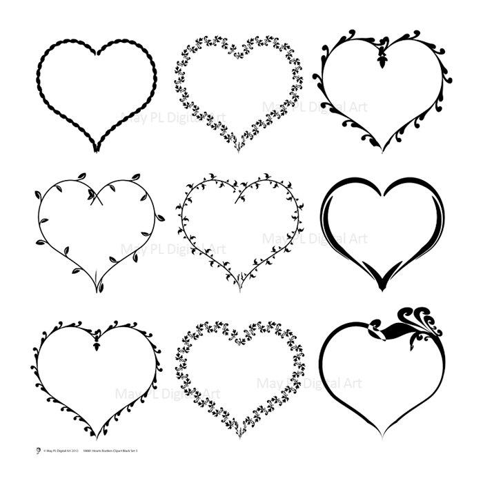 Small clipart love heart VECTOR Supply Clip Clipart VECTOR