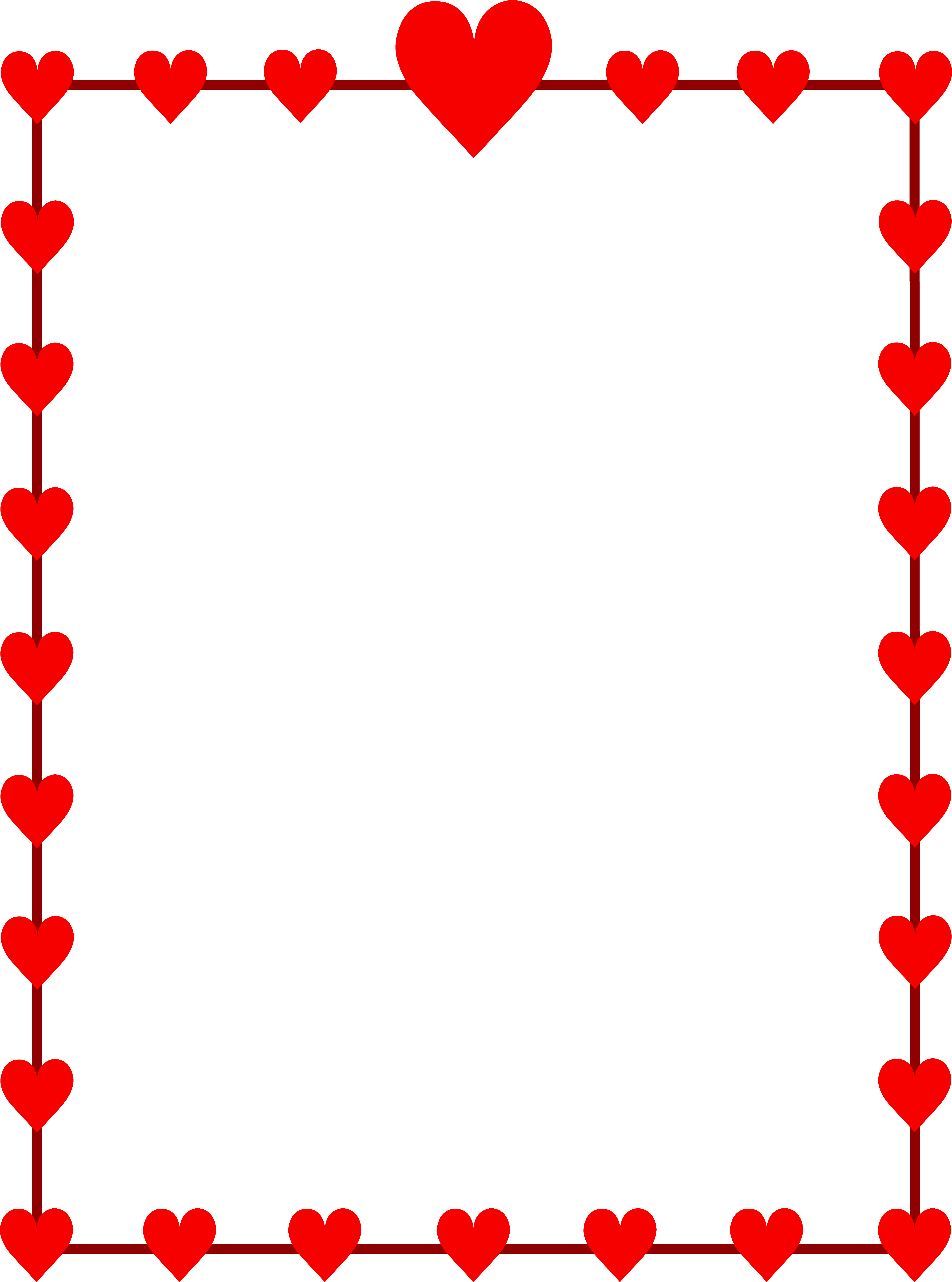 Cards clipart valentine card Heart made of Clipart Heart