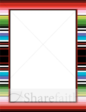 Frame clipart mexican Borders  Mexican Winter Blanket