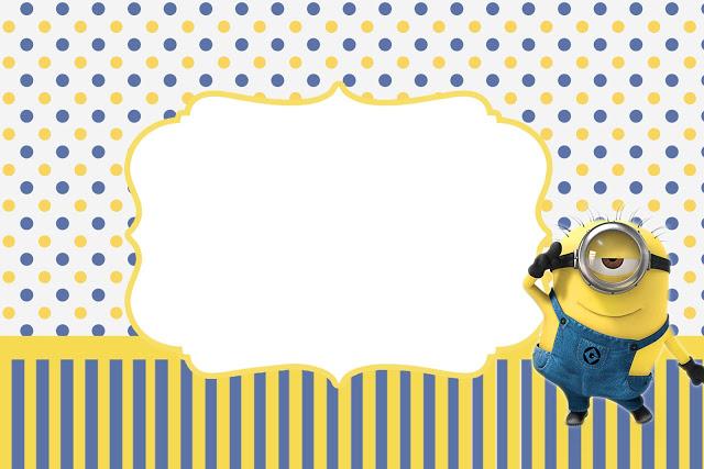 Frame clipart minion Party Invitations Minions Minions Is