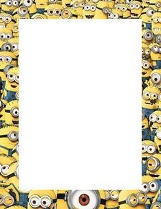 Frame clipart minion This  in Pin on
