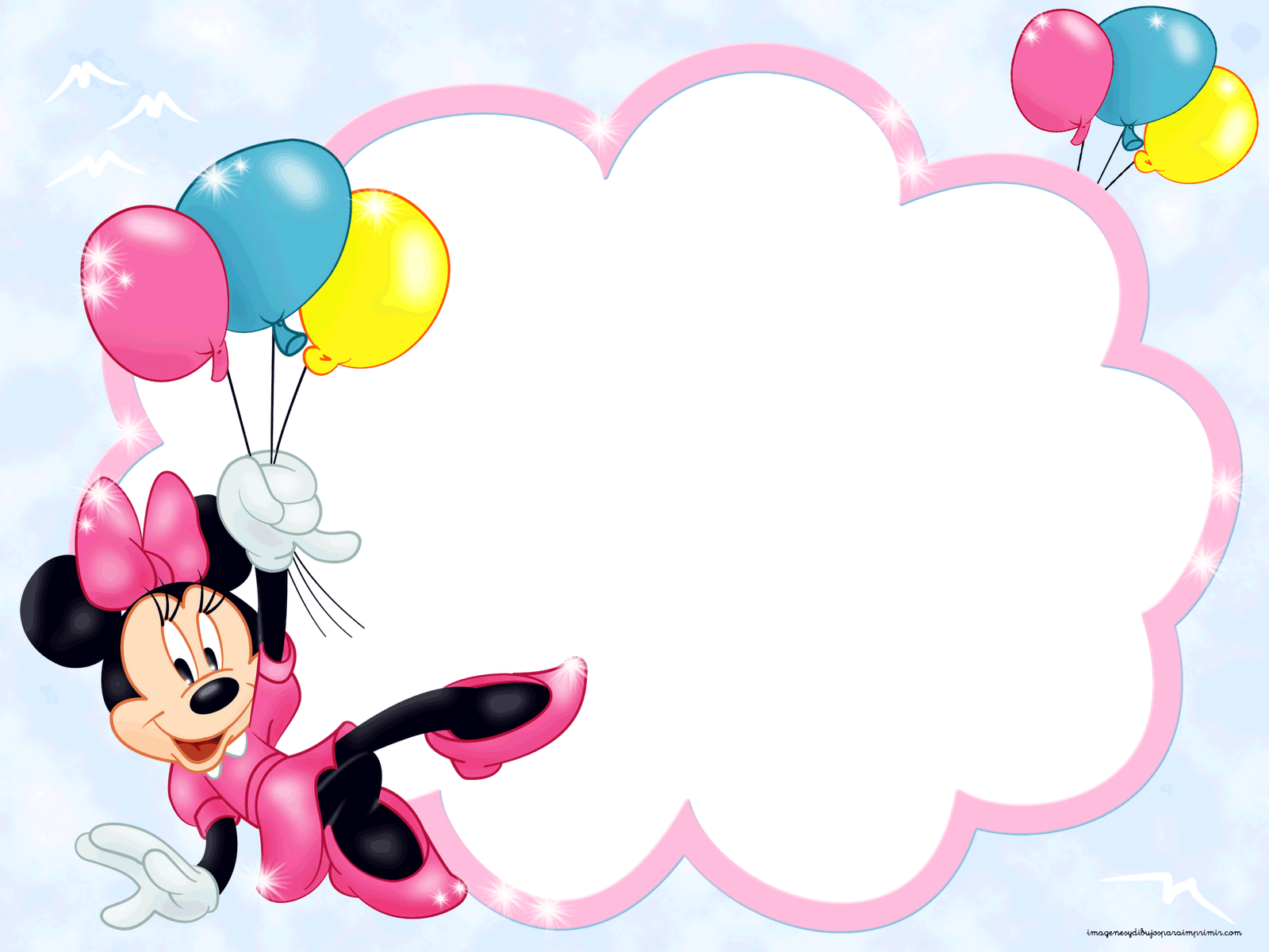 Frame clipart minnie mouse #7
