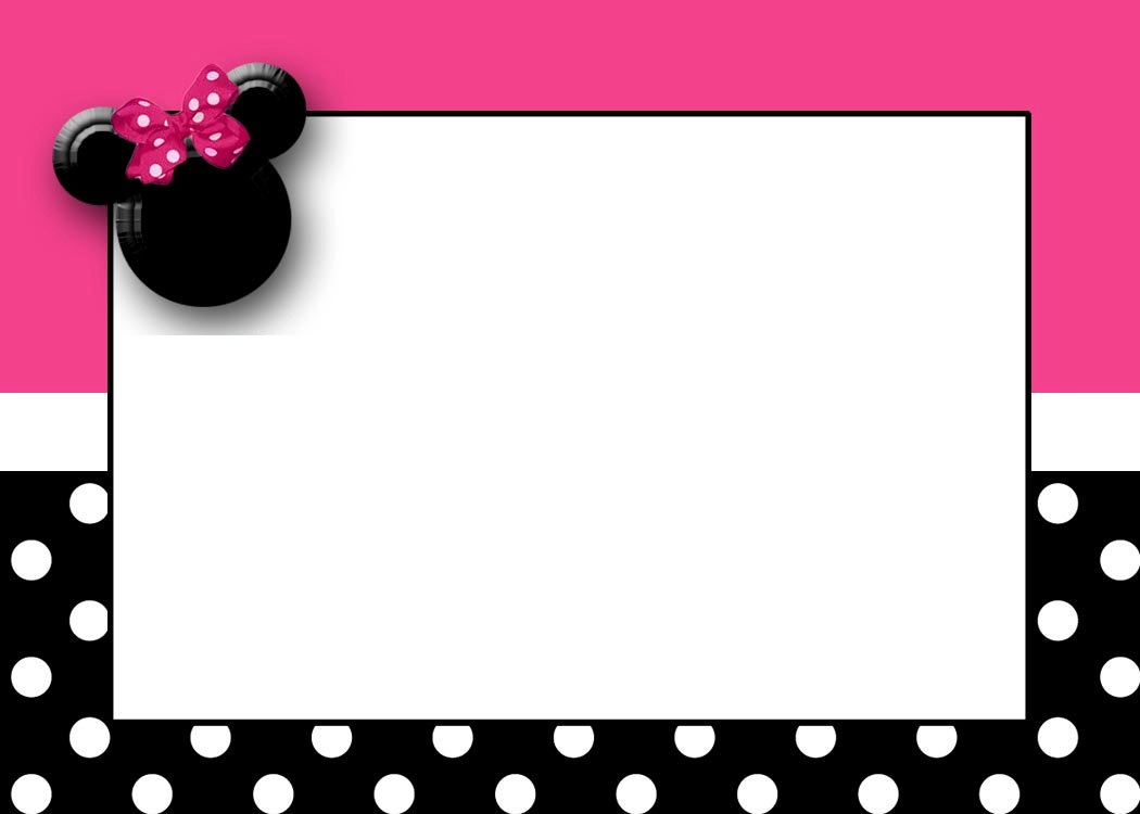 Frame clipart minnie mouse #12