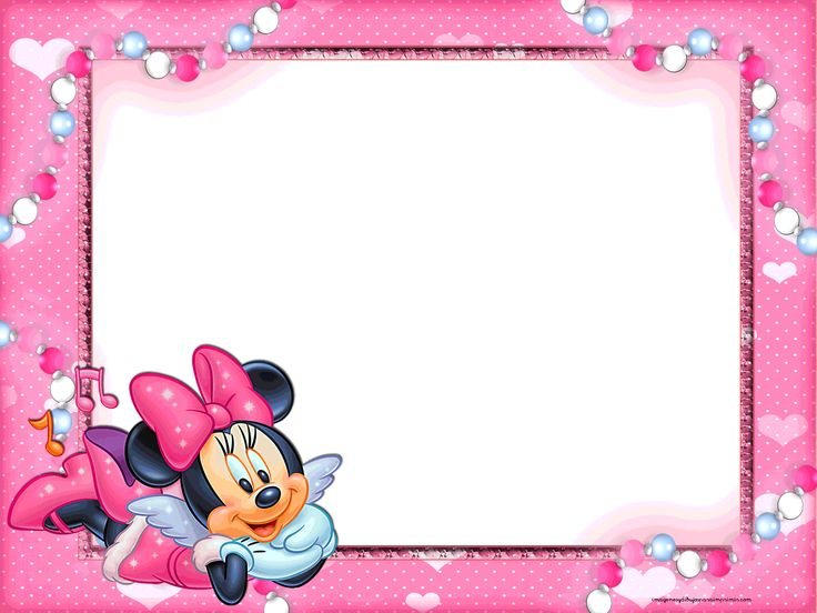 Frame clipart minnie mouse Minnie for para Angel images