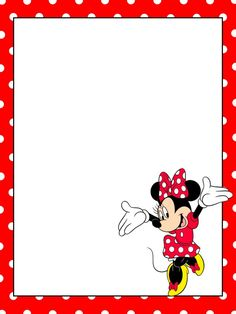 Frame clipart minnie mouse #1