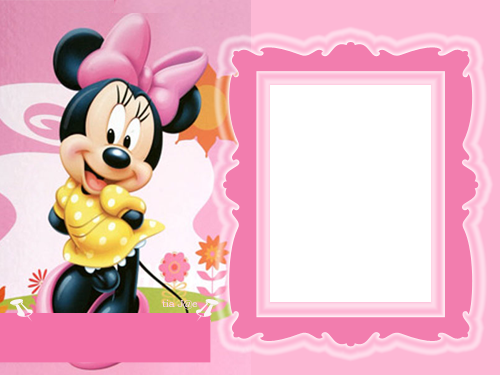 Frame clipart minnie mouse #4