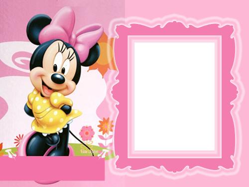 Frame clipart minnie mouse Digital disney Babies personagens