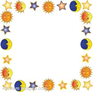 Planet clipart border Education and page of Suns