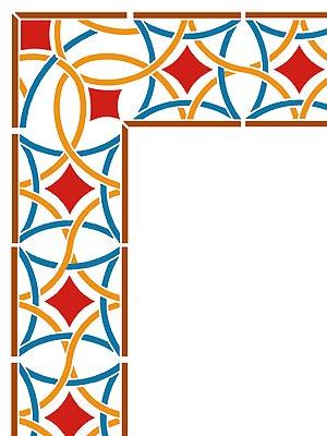 Frame clipart moroccan Filigree Moroccan Corner in Henny