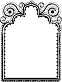 Frame clipart moroccan Clipart Stationery Wedding for Lace