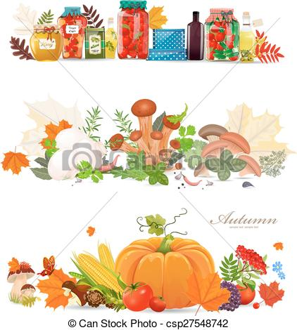 Frame clipart mushroom Collection  preserve of food