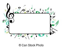 Frame clipart music A  frame Clip Art