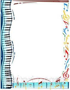 Frame clipart music Music on Clip Art
