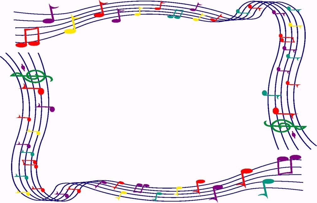 Frame clipart music Images Clip Music Border Music