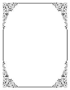 Classic clipart border Clip art clip  frames