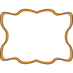Frame clipart orange Border  Frames Download Clip