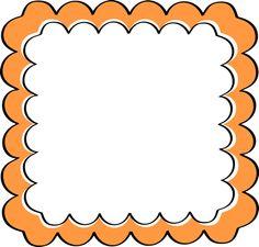 Frame clipart orange Frame and Orange Zone Purple