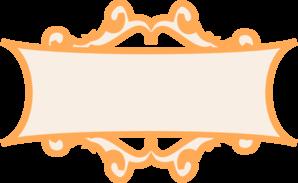 Frame clipart orange Orange online Frame Clip com