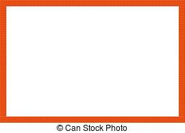 Frame clipart orange  vector Orange orange Orange