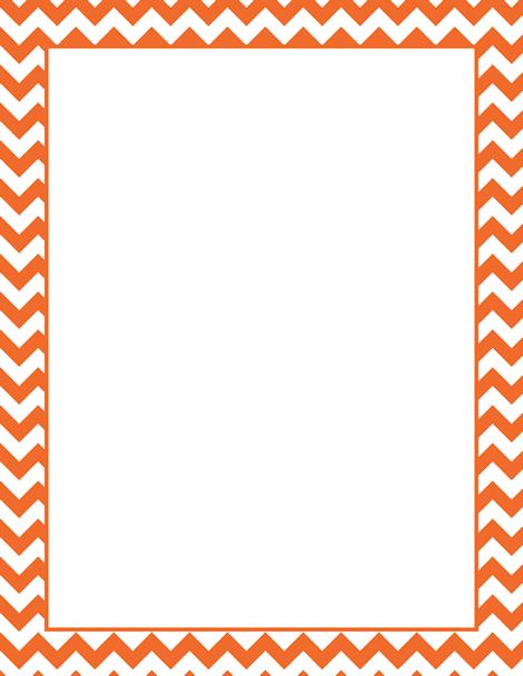 Frame clipart orange Use Free damask orange JPG