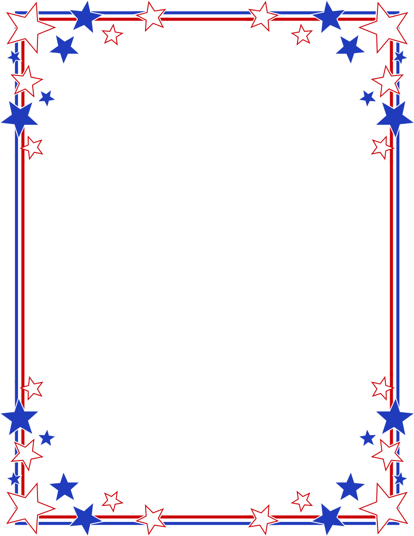 Frame clipart patriotic And of png patriotic frames