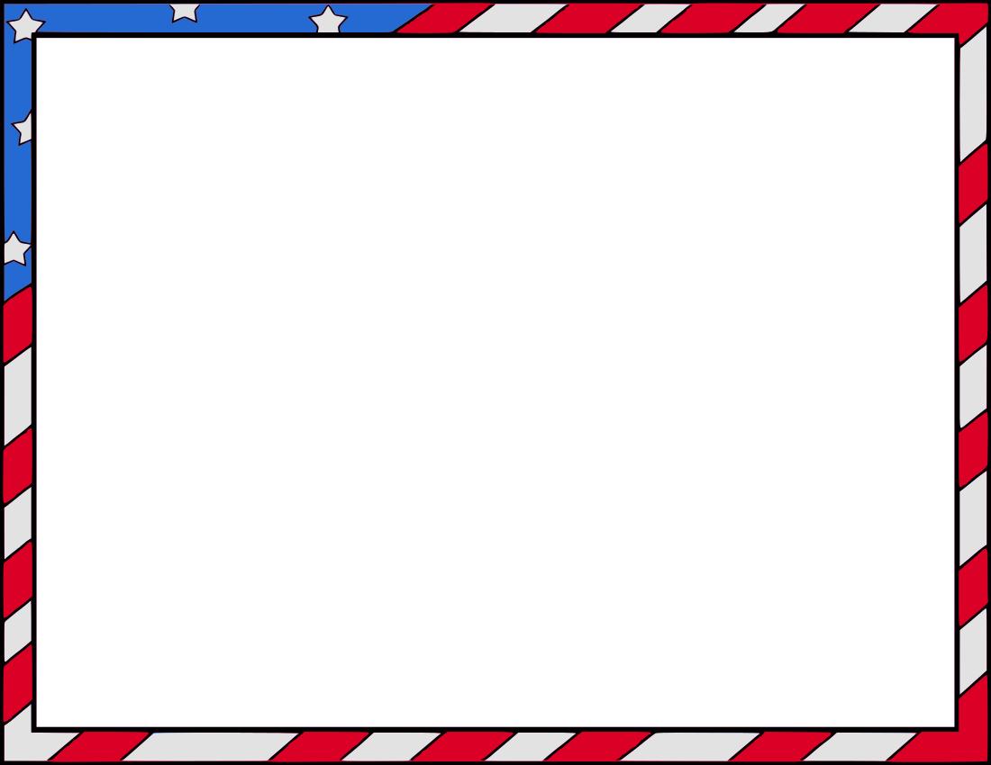 Frame clipart patriotic Png patriotic patriotic border /page_frames/holiday/4th_July/patriotic_border