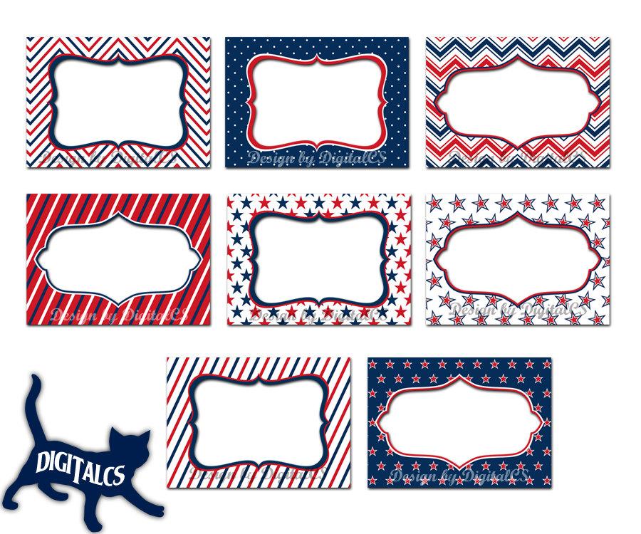 Frame clipart patriotic Frames frame digital art