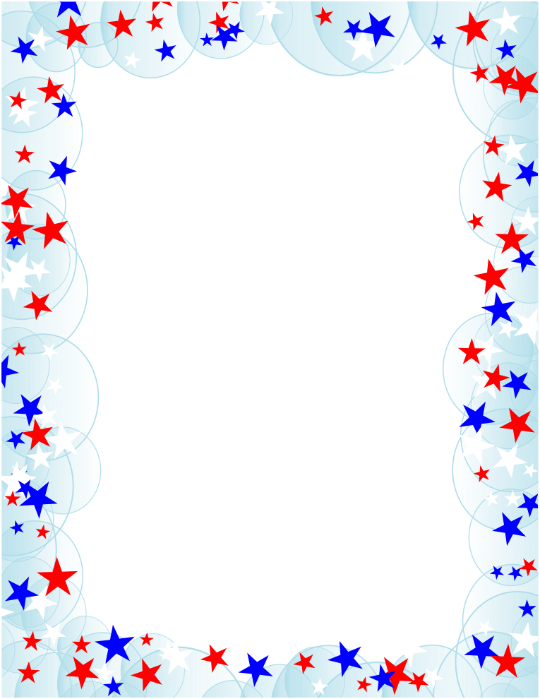 Frame clipart patriotic Collection Border American Free Stars